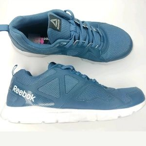 Mens Reebok Memory Foam running shoes Color Blue